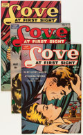 Golden Age (1938-1955):Romance, Love at First Sight Group (Ace, 1950-56) Condition: Average FN/VF.... (Total: 15 Comic Books)