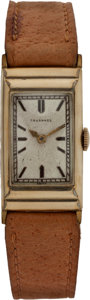 Golf Collectibles:Miscellaneous, 1935 Ryder Cup Watch From US Team Member Johnny Revolta....