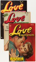 Golden Age (1938-1955):Romance, Love Experiences Group (Ace, 1951-56) Condition: Average FN....(Total: 14 Comic Books)