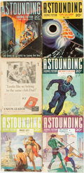 Books:Pulps, [Pulps]. Six Issues of Astounding Science Fiction.1939-1941. Toning and edgewear with some loss. Good. . ... (Total:6 Items)