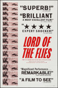"""Movie Posters:Adventure, Lord of the Flies (Continental, 1963). One Sheet (27"""" X 41"""").Adventure.. ..."""
