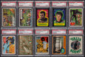 Non-Sport Cards:Lots, 1950's-70's Superhero/Fantasy Cards and Stickers Collection (150+). ...