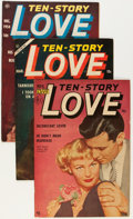 Golden Age (1938-1955):Romance, Ten-Story Love Group (Ace, 1952-56) Condition: Average FN/VF....(Total: 7 Comic Books)