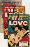 Golden Age (1938-1955):Romance, Real Love Group (Ace Periodicals, 1950-56) Condition: AverageVF-.... (Total: 12 Comic Books)