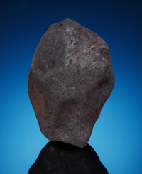 EXCEPTIONAL CHELYABINSK METEORITE: LARGE COMPLETE, ORIENTED INDIVIDUAL WITH FLOW LINES Ordinary Chondrite (LL5