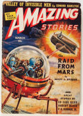 Pulps:Science Fiction, Amazing Stories - March '39 (Ziff-Davis, 1939) Condition: VG-....