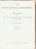Books:Reference & Bibliography, [Encyclopedia]. Encyclopædia Britannica. New York: Britannica,1910-1911. Eleventh Edition. Handy Volume Issue. Complete in ...(Total: 29 Items)
