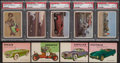 Non-Sport Cards:Lots, 1950's-60's Non-Sports - Cars/Automobiles Theme Collection (66)....