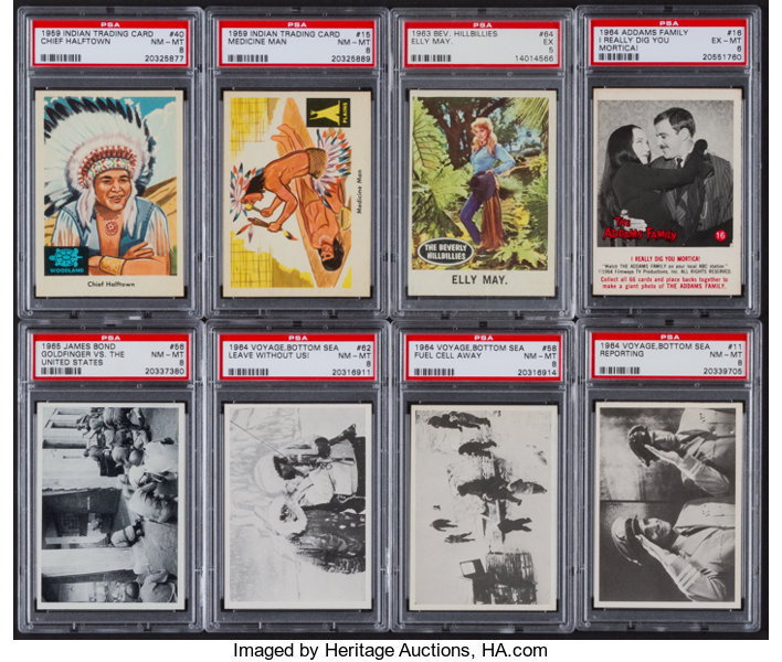 1950 S 70 S Non Sports Card Collection 250 Non Sport Cards Lot 44155 Heritage Auctions