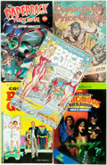 Books:Reference & Bibliography, [Comics]. Group of Five Comic Book Price Guides. Various publishersand dates. Original printed wrappers. Some rubbing and e... (Total:5 Items)