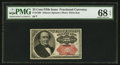 Fractional Currency:Fifth Issue, Fr. 1309 25¢ Fifth Issue PMG Superb Gem Unc 68 EPQ.. ...