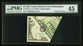 Error Notes:Foldovers, Fr. 1978-C $5 1985 Federal Reserve Note. PMG Choice Extremely Fine45.. ...