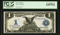 Large Size:Silver Certificates, Fr. 236 $1 1899 Silver Certificate PCGS Very Choice New 64PPQ.. ...
