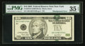 Error Notes:Shifted Third Printing, Fr. 2038-B $10 2003 Federal Reserve Note. PMG Choice Very Fine 35 EPQ.. ...