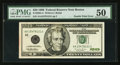 Error Notes:Doubled Third Printing, Fr. 2083-A $20 1996 Federal Reserve Note. PMG About Uncirculated50.. ...