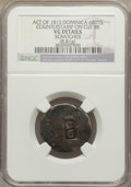 Dominica, Dominica: British Colony Countermarked 6 Bits ND (1813) VG Details(Scratches) NGC,...