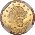 California Fractional Gold, 1873 25C Liberty Round 25 Cents, BG-817, R.3, MS67 NGC....