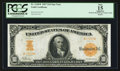 Large Size:Gold Certificates, Fr. 1168* $10 1907 Gold Certificate PCGS Apparent Fine 15.. ...