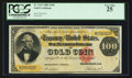 Large Size:Gold Certificates, Fr. 1213 $100 1882 Gold Certificate PCGS Very Fine 25.. ...