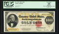 Large Size:Gold Certificates, Fr. 1215 $100 1922 Gold Certificate PCGS Apparent Very Fine 35.. ...