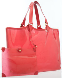 Louis Vuitton Red Epi Vinyl Lagoon Tote Bag