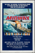 """Movie Posters:War, Midway (Universal, 1976). One Sheet (27"""" X 41"""") Style B. War.. ..."""