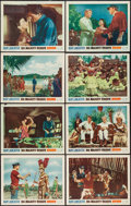 "Movie Posters:Adventure, His Majesty O'Keefe (Warner Brothers, 1954). Lobby Card Set of 8(11"" X 14""). Adventure.. ... (Total: 8 Items)"