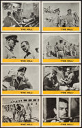 "Movie Posters:Drama, The Hill (MGM, 1965). Lobby Card Set of 8 (11"" X 14""). Drama.. ... (Total: 8 Items)"