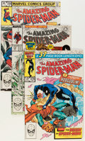 Modern Age (1980-Present):Superhero, The Amazing Spider-Man Box Lot (Marvel, 1983-88) Condition: AverageNM+....