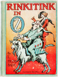 Books:Children's Books, L. Frank Baum. Rinkitink in Oz. Chicago: Reilly & Lee,[1916, but actually 1920]. With captioned color plates. P...