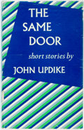 Books:Literature 1900-up, John Updike. INSCRIBED. The Same Door. New York: Knopf,1959. First edition. Inscribed by the author. Includes a...