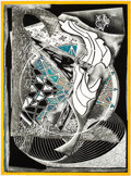 Prints:Contemporary, FRANK STELLA (American, b. 1936). Jonah HistoricallyRegarded (from the Moby Dick Engravings series), 1991.Etching,...