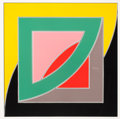 Prints:Contemporary, FRANK STELLA (American, b. 1936). Referendum '70, 1970.Screenprint in colors. 40 x 40 inches (101.6 x 101.6 cm). Ed. 85...