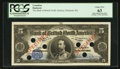 Canadian Currency: , Montreal, PQ- The Bank of British North America $5 July 3, 1911 Ch.# 55-24-02S Specimen. ...