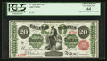 Large Size:Legal Tender Notes, Fr. 126b $20 1863 Legal Tender PCGS Apparent Very Choice New 64.....