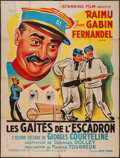 """Movie Posters:Foreign, Fun in Barracks (Pathe, R-1960s). French Grande (47"""" X 63""""). Foreign.. ..."""