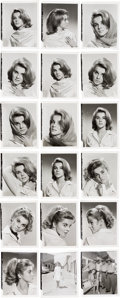 Movie/TV Memorabilia:Photos, An Ann-Margret Group of Never-Before-Seen Black and White Test Photographs, 1963....