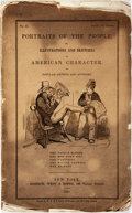 Books:Americana & American History, [Americana]. Portraits of the People, or, Illustrations andSketches of American Character, by Popular Artists and Autho...