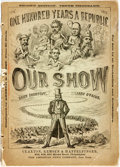 Books:Americana & American History, Daisy Shortcut and Arry O'Pagus (pseudonyms). Our Show; AHumorous Account of the International Exposition...Profuse...