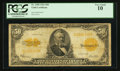 Large Size:Gold Certificates, Fr. 1200 $50 1922 Gold Certificate PCGS Very Good 10.. ...