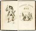 Books:Literature Pre-1900, Charles Dickens (as Boz). Barnaby Rudge. Philadelphia: Leaand Blanchard, 1842. First American edition. Octavo. 323 ...