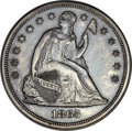 Patterns, 1865/1866 $1 Dollar, Judd-434, Pollock-507, Low R.7, PR62 NGC. CAC....