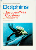 Books:Natural History Books & Prints, Jacques-Yves Cousteau and Philippe Diole. Dolphins. New York: Doubleday, 1975. First American edition. Quarto. Publi...