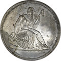 (1836) $1 Gobrecht Dollar Splasher, Judd-A1836-4, Pollock-3025, R.8 -- Repaired -- PCGS Genuine....(PCGS# 62419)