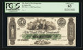 Canadian Currency: , St. John, NB- The Bank of New Brunswick $50 Nov. 1, 1860 Ch. #516-14-54P Face Proof. ...