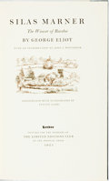 Books:Literature Pre-1900, [Limited Editions Club]. Lynton Lamb, illustrator. SIGNED. GeorgeEliot. Silas Marner. Limited Editions Club, 1953....