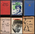 Boxing Collectibles:Autographs, Boxing Hardcover Books, With Signatures (Cuts, Etc.) Lot of 6....