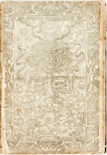 Books:Religion & Theology, [Holy Bible]. Early Bible, Possibly Geneva. Lacking front matter, with defective engraved title page and early leaves. Seven...