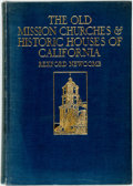 Books:Art & Architecture, Rexford Newcomb. The Old Mission Churches and Historic Houses of California. Philadelphia: J.B. Lippincott, 1925. Qu...