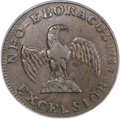 Colonials, 1787 COPPER New York Excelsior Copper, Indian and Eagle AU55 PCGS. CAC. Breen-991, W-5800, Low R.7....